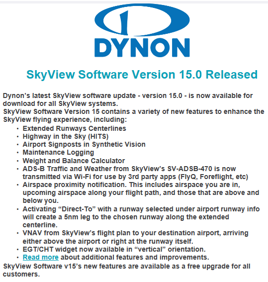 Dynon Download
